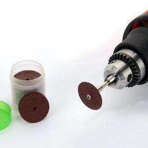 Image 2 - Mini kit de brocas rotativas, conjunto de ferramentas rotativas com 150 peças, ferramenta de polimento, lixamento de haste, acessório de polimento bit bit