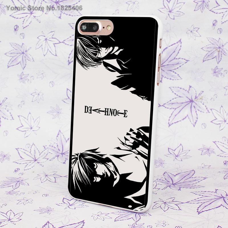 Anime Manga Death Note Design Hard White Skin Case For