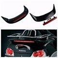 Rear Trunk Spoiler with LED Somke Lens For Honda GL1800 GOLDWING 2001-2011 New