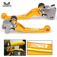Dirt Bike Brake Clutch Levers For SUZUKI RM85 RM125 RM250 RMZ250 RMZ450 RMX250S DRZ400S DRZ400SM DR250R 250SB 2002-2006