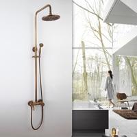 BECOLA смеситель для душа Смесители для ванной комнаты античная латунь смеситель для душа комплект GZ 6007
