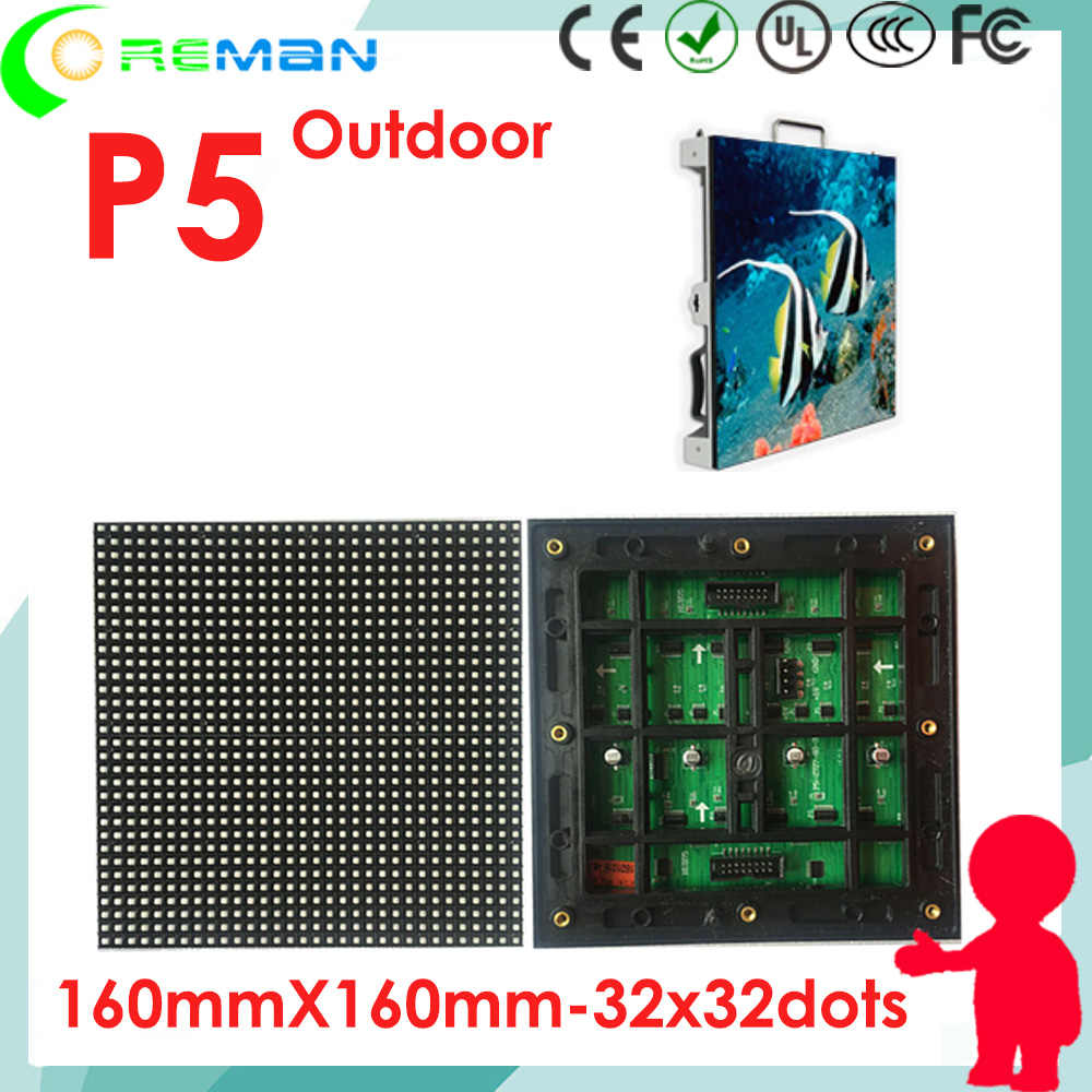 LED outdoor display p5 led-modul 64*64 32*32 64*32, smd rgb farben 5mm outdoor-bildschirm led-modul outdoor p3 p4 p6 p8