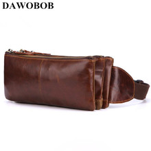 New Men Casual Waist Pack Bag Brand Genuine Shoulder Fanny Pack Women Belt Bag Pouch Money Phone Bum Hip Bag Brown As Gifts yingtouman portable oil