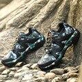 2016 Nuevo Otoño E Invierno de Los Hombres de Camuflaje Zapatos Casuales Los Hombres Que Suben Zapatos Planos Con Transpirable de Zapatos Hombre Hombres