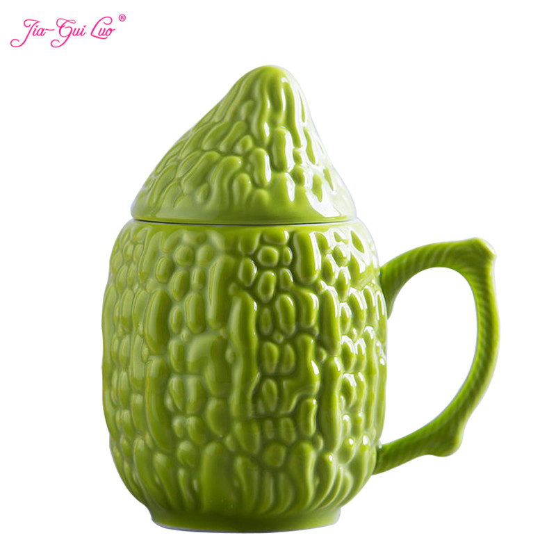 JIA-GUI LUO Creative Country Style Mug Cup Bitter Cup Office Simple Coffee Cup Kitchen Bar Supplies gift