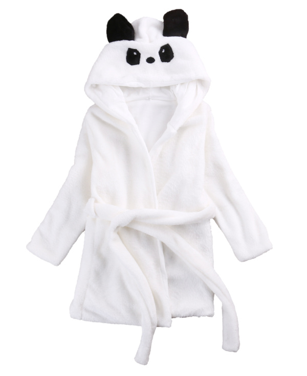 2017 New Animal Hooded Baby Sleepwear Flannel Pajamas Unisex Kids Girls Boys Long Sleeve Cute Cosplay