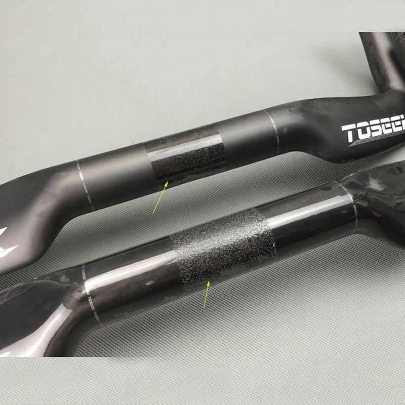 Un nuevo diseño de fibra de carbono de la bicicleta de la carretera dentro de la línea de manillar de la bicicleta de manillar de carbono de las piezas de bicicleta de carretera