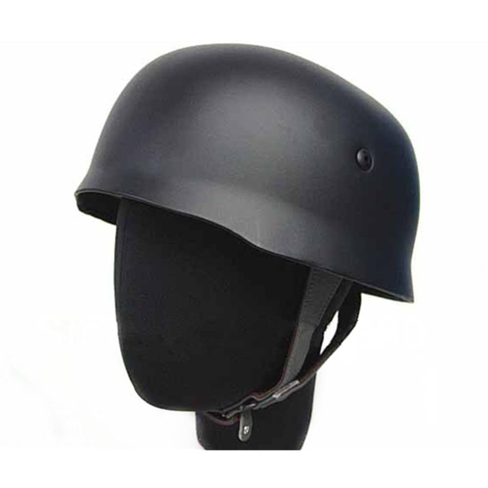 WW2 Cycling Helmet German Paratrooper Fallschirmjager M38 Helmet Black GRAY OD