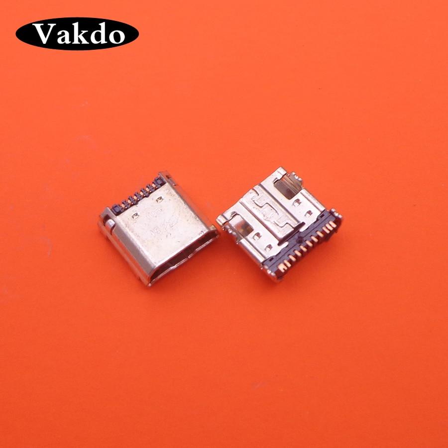 10pcs/Lot ,Micro USB Plug Charging Port Connector Socket For Samsung Tab 3 7.0 I9200 I9205 P5200 P5210 T530 T210 T211 T311 I9208