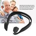 Conducción Ósea Bluetooth 4.0 Wireless Stereo Headset inalámbrico Deportes Auriculares Dinámico Auriculares Del Gancho Del Oído de 100Hz-18 KHz
