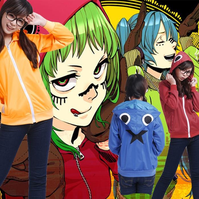 Vocaloid Unisex Sweatshirts Cosplay Matryoshka Megurine Gumi Hoodies Hatsune Miku Coats Women Men Casual Jackets Sportswear