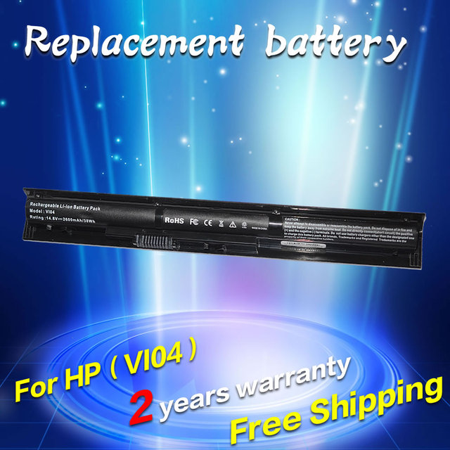 Jigu vi04 m4y19pa l1l30pa para hp j6m93pa k2n92pa batería del ordenador portátil para pavilion 17-g161us 15-b065tx 17-1113dx hstnn-db6j l1l32pa