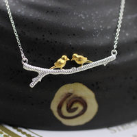S925 sterling silber halskette großhandel zweige sterling silber halsketten mode explosionen silber schmuck