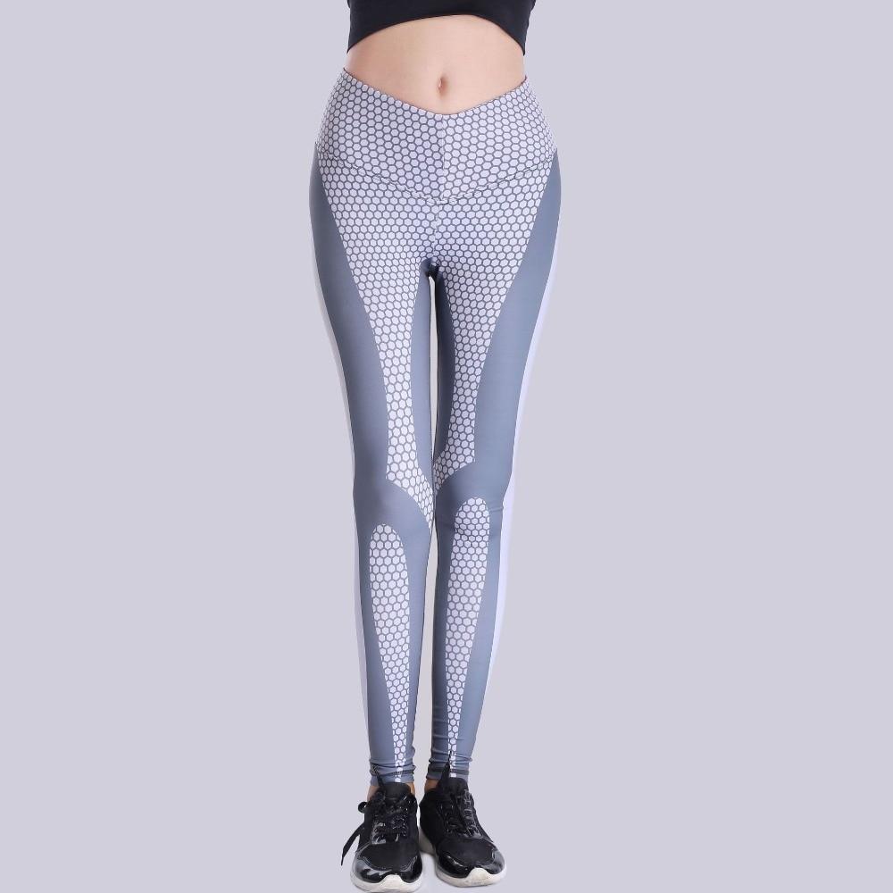 High waist athleisure women legging sportswear dot print 3D harajuku elastic fitness leggings jegging women long push up pants