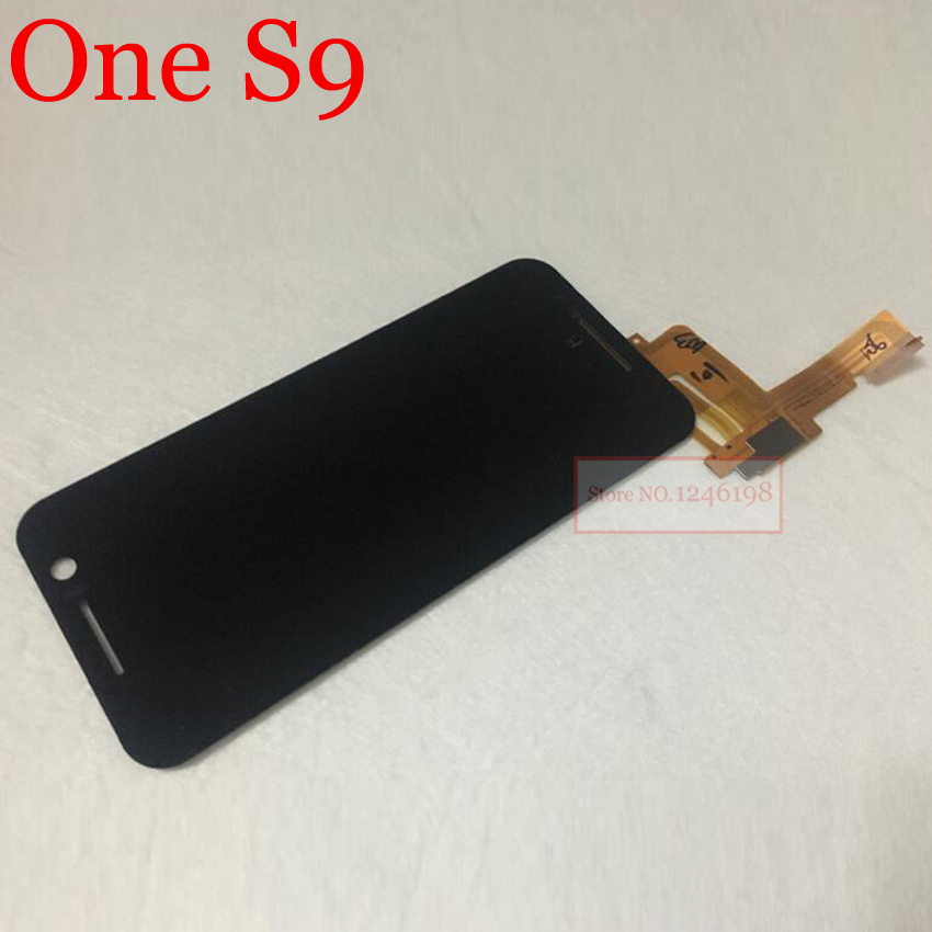 Подробнее о TOP Quality Full LCD Display Touch Screen Digitizer Assembly For HTC One S9 Mobile Phone Replacement Parts top quality black full glass sensor lcd touch screen digitizer assembly for htc one sv c525e mobile phone display repair parts
