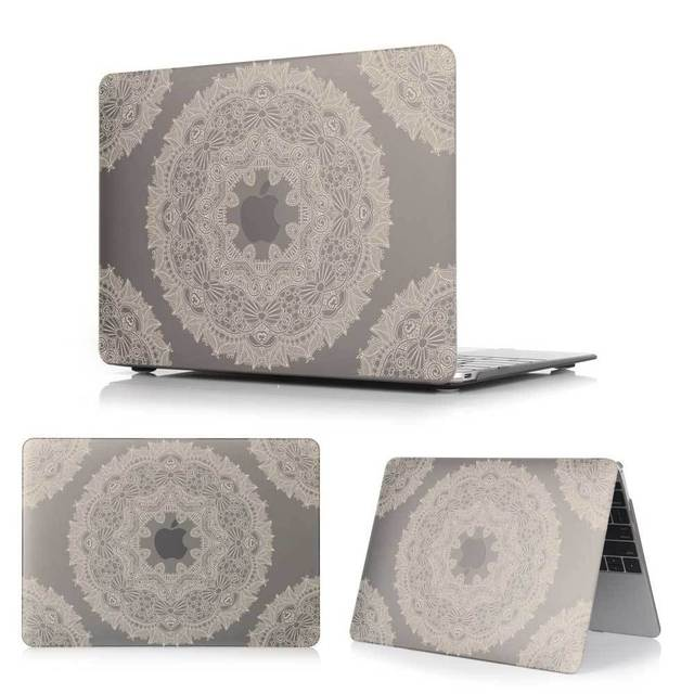 Russia Ethnic floral pattern Cover Case For Macbook Pro 13 15 Retina Macbook Air 11.6 12 13.3 laptop Accessories