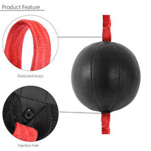 Double End Boxing Speed Ball Punch Bag PU Leather Gym Punching Bag Training Fitness Sports Practical Speed Equipment(China)