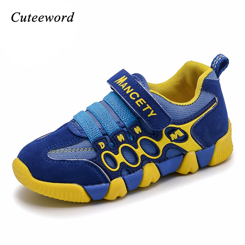 2019 Children sports shoes boys sneakers for girls running shoes spring new kids non slip casual breathable mesh sneakers 26 37 in Sneakers from Mother Kids