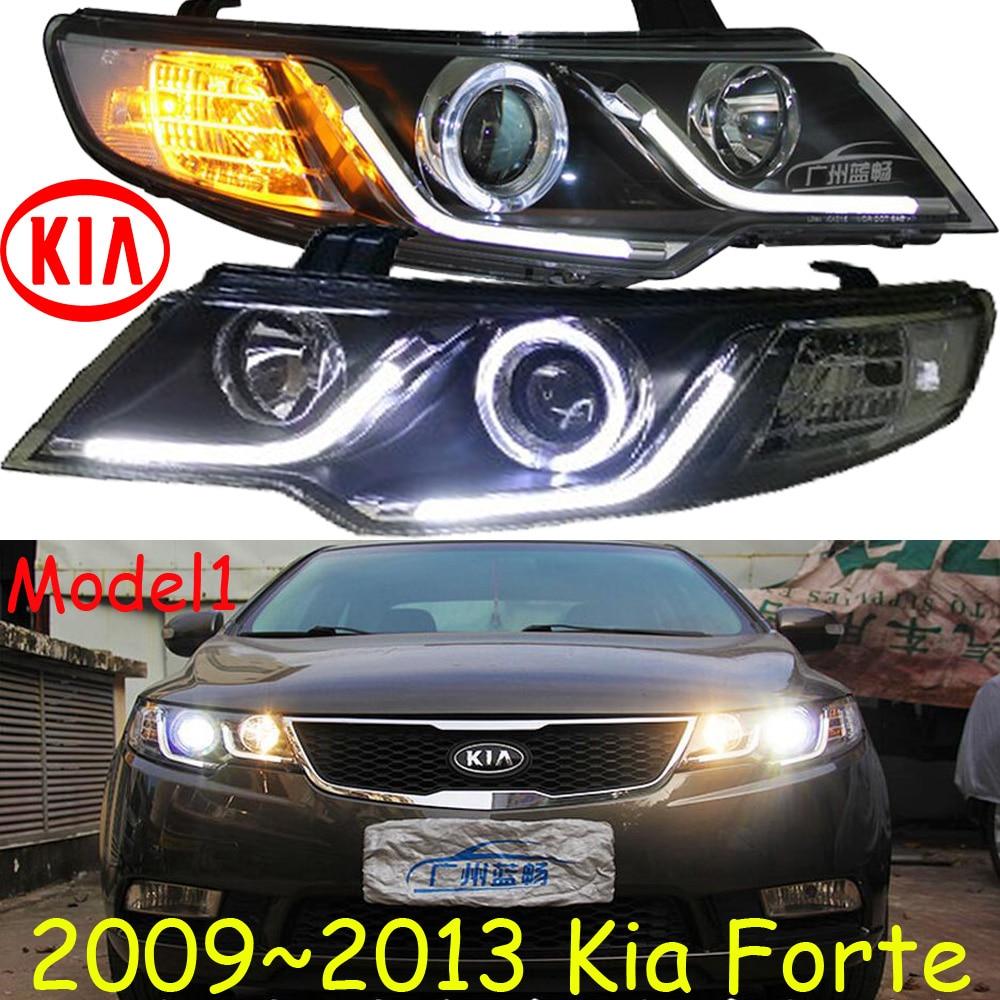 KlA Forte Headlight,Cerato,K3,2009~2013,Free Ship!KlA Forte Daytime Light,sorento,k5 K7,Borrego,cadenza,carnival,magnetis