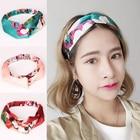 Fabric Flowers Hair Ties headbands for Girls Elastic headbands Women Styling Accessories