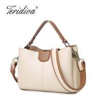 Teridiva Brand Designer Women Shoulder Bags High Qaulity Handbags Small Tote Bag Women Messenger Bag Ladies