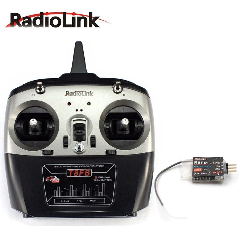 Радиолинк T8FB 2,4 ГГц 8ch R8EF приемник для вертолет Радиоуправляемый квадрокоптер из набора «сделай сам» Плано RC дроны izquierda acelerador