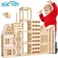 100 unids Resina bloques Educativos Montessori juguetes de madera para niños bloques de construcción de aprendizaje Suave brinquedos jouet speelgoed