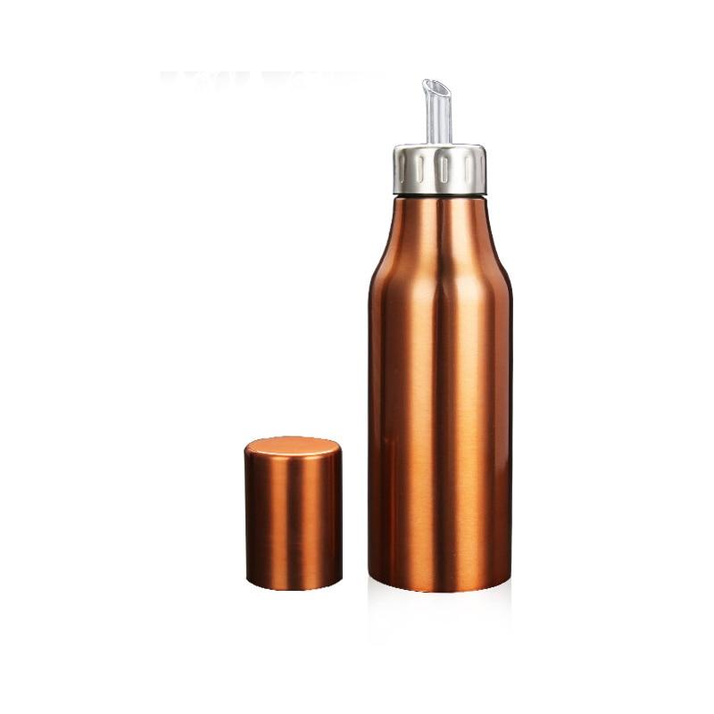 750ml Copper Olive Oil Bottle Dispenser Kitchen Stainless Steel Cruet Gm2165 In Gravy Boats From Home Garden On