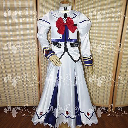 Magical Girl Lyrical Nanoha Strikers Nanoha Takamachi Cosplay Costume  Uniform Outfit Shirt+Coat+Skirt+Gloves Custom made-in Boys Costumes from  Novelty ...