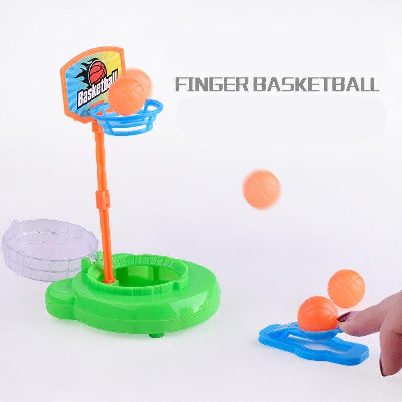 1Pc Children s Desktop font b Mini b font Handheld Finger Basketball Game Console Shooting Puzzle