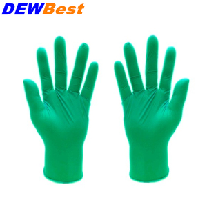 Image 4 - DEWBest Free shipping high quality Black Nitrile Gloves Disposable Nitrile Oil and Acis Wholesale Industrializationd Latex Glove
