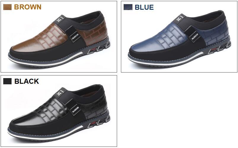 HTB1KWuIaYj1gK0jSZFOq6A7GpXaX ZUNYU New Big Size 38-48 Oxfords Leather Men Shoes Fashion Casual Slip On Formal Business Wedding Dress Shoes