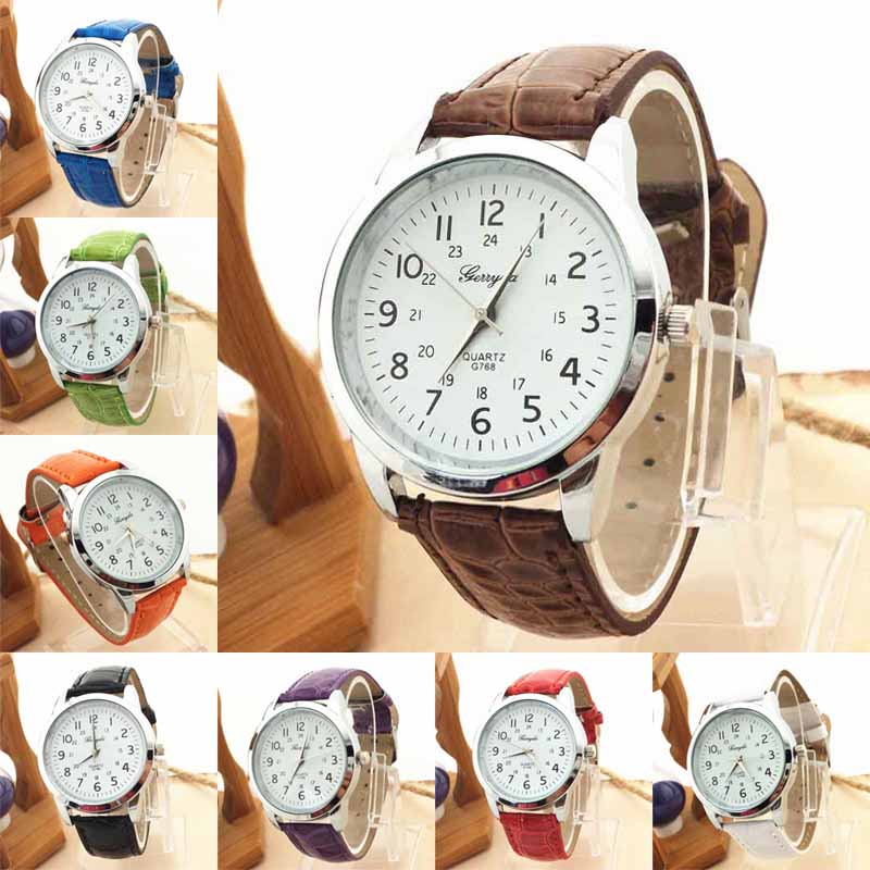 Elegant Luxury Sports Leather Strap Quartz Watches Women Mens Wrist Watch Business Brand Digital Relogio Masculino Feminino Saat  brand new women watches luxury design quartz watch women unisex mens leather business wrist watches relogio feminino reloj jo