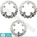 04 05 06 07 New Front Rear Brake Discs Disks Rotors fit For Yamaha XP T-MAX scooter 500 2004 2005 2006 2007