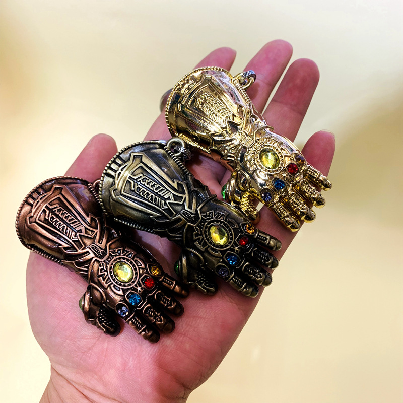 Avengers: Infinity War Thanos Action Toy Figures Nebula Cosplay Gloves Armor Model Keychain Chain Armor Unisex MetalAvengers: Infinity War Thanos Action Toy Figures Nebula Cosplay Gloves Armor Model Keychain Chain Armor Unisex Metal