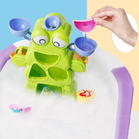 Kids Toys for Children New Arrival Bubble Crabs Baby Bath Toy Funny Bath Bubble Maker Pool Swimming Bathtub Soap Machine Gift
