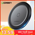 Ugreen 10W Qi Wireless Charger for iPhone X XS XR 8 Plus Fast Wireless Charging Pad for Samsung S8 S9 S10 Xiaomi mi 9 Charger