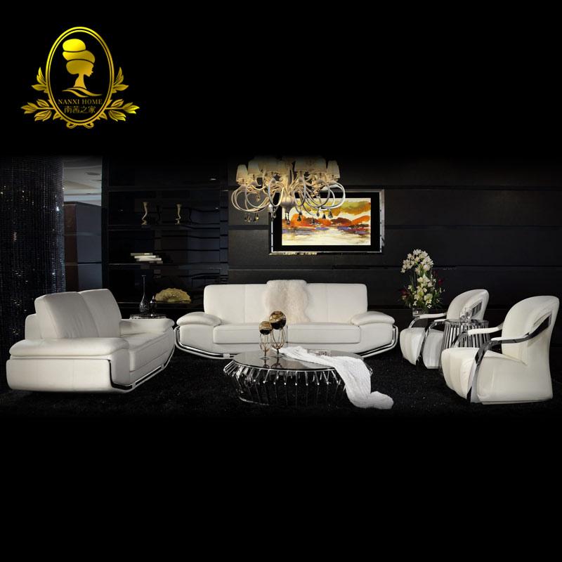 High quality leather sofa modern sofa living room sofa for Quality living room furniture