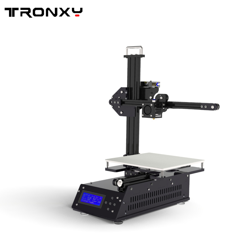 Upgraded Fast assembly Eduction desktop 3d printer Aluminium profile X2 High Precision with automatic sensor 3