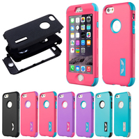 Hybrid Case For Iphone 5 5s Se 6 6s 7 Plus Hard Silicone Shockproof Cover Wing