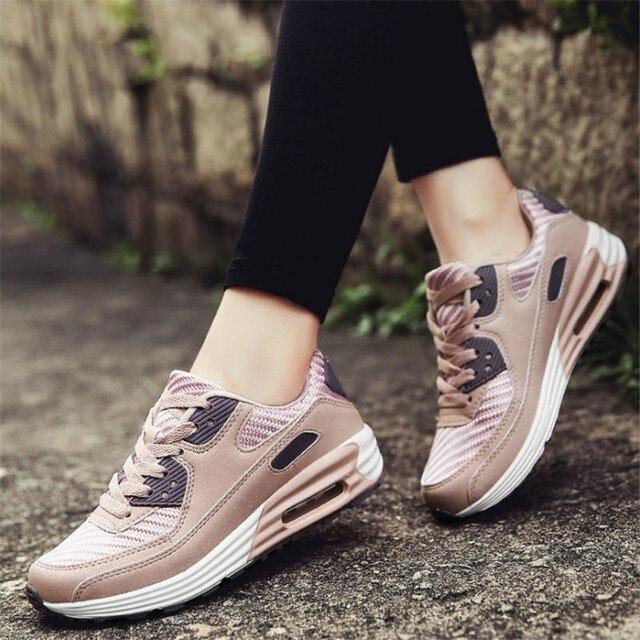 Sfit Femme Chaussures Printemps de Coussin D'air de Sport