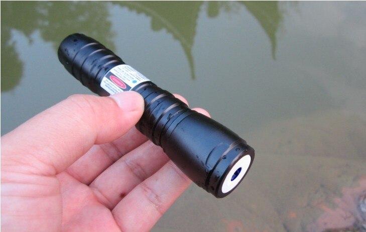 NEW 300w 300000mw 650nm high power laser pointer red laser pen focus burn black match