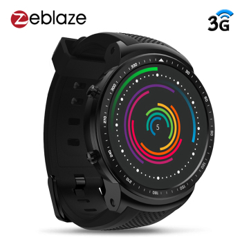 "Zeblaze Thor PRO 3G GPS Smart Watch Phone 1.53"" IPS Android 5.1 1GB 16GB BT4.0 Sport Smartwatch 2.0MP Camera Heart Rate Monitor"