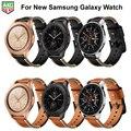 Для Samsung Galaxy Watch Band новейший ремешок из натуральной кожи ручной работы для Samsung Galaxy Watch 42 мм 46 мм S3 S2 Gear Sport