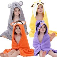 Extra Soft Baby Animal Plush Bathrobe | Ideal Baby Registry Gift | Super Absorbent and Hypoallergenic