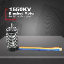 цена на Rocket 4082 1550KV/1720KV Brushless Sensorless Motor 4 Pole Sensorless Motor For 1/8 RC Drift Racing Model Car Parts