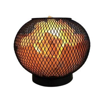 Himalayan Crystal Rock Salt Lamp LED Bedroom Night Light Air Purifier Bedside Atmosphere Lamp with Built-in Battery Case vasos sanitários coloridos