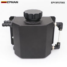 Универсальный алюминиевый маслоуловитель двигателя из сплава 1л, бак для дыхания, радиатор, переливающийся бак EPYXFST003