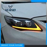Для Toyota Corolla 2011 2012 2013 фары лампы в сборе Elantra передние фары светодиодный фары Изменить на заказ