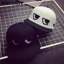 RBUDDY 2019 Cute Parent-Child Baseball Caps Hip Pop Streetwear Snapback Summer Trucker Dad Hat for Boy Girl Straight Visor Hat